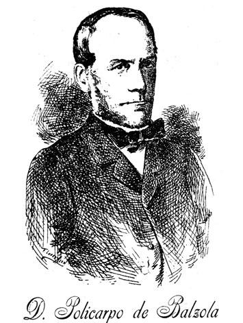 Policarpo de Balzola (1813-1879)