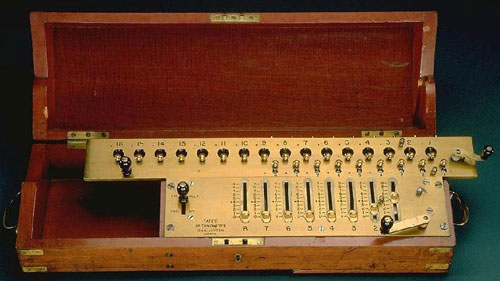 Another Layton-Tate machine (Courtesy of the Smithsonian Institution)