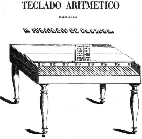 The Teclado Aritmético of Policarpo de Balzola
