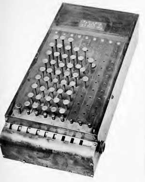 Comptometer from 1886
