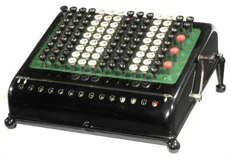 Burroughs Calculator, Class 5 (Courtesy of Mr. John Wolf)