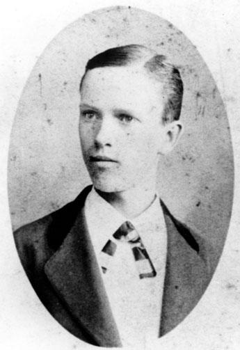 William Seward Burroughs as an 18 y.o. frail bank clerk