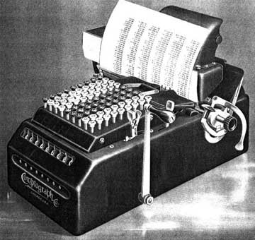 Comptograph Adding Machine from 1895