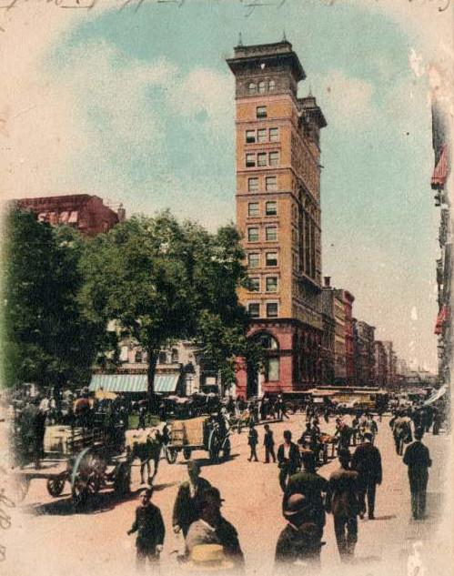 National Shoe & Leather Bank, New York, around 1900