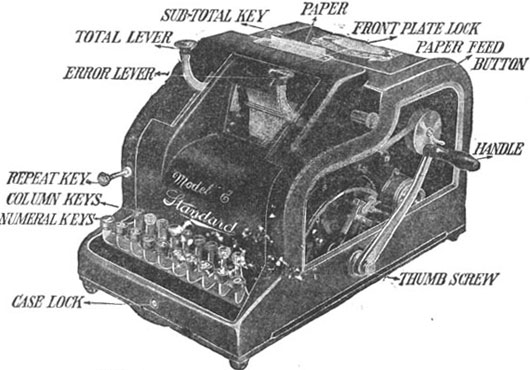 Standard Adding Machine