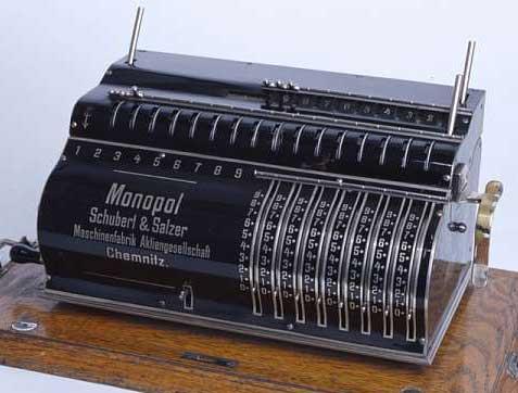 The Monopol machine (©Tekniska museet, Stockholm)
