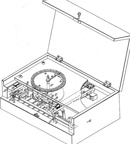 David Nelson's patent drawing