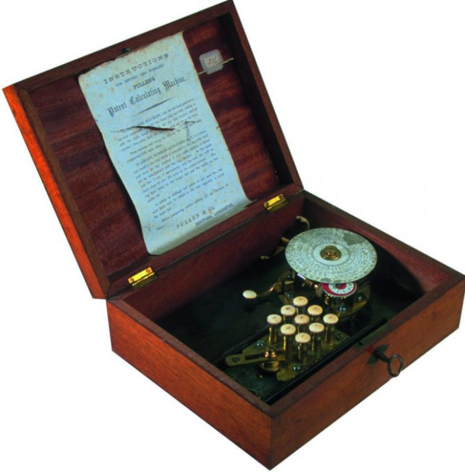 Pullens Patent Calculating Machine