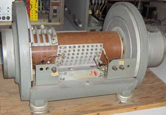 A magnetic digital storage drum memory from 1950s