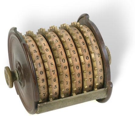The adding machine of Milton Jeffers (© National Museum of American History, Washington, D.C.)