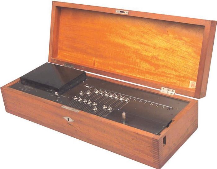 Autarith, Alexander Rechnitzer's first calculating machine