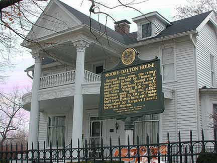 The house of Dalton in Poplar Bluff, Missouri, (now Margaret Harwell Art Museum), where he lived 1896-1914