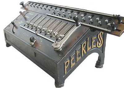 Peerless Rapid model with a cast iron frame