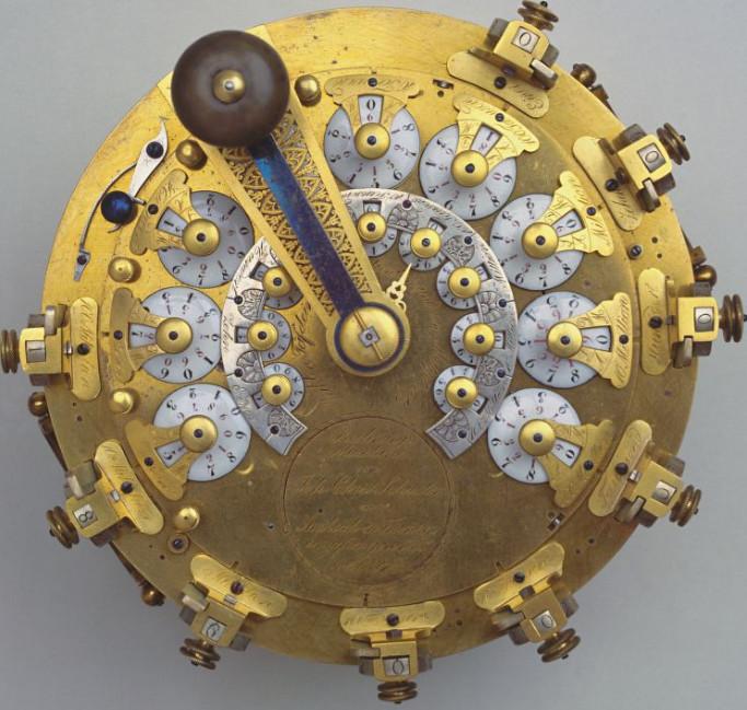Second calculating machine of Johann Christoph Schuster (© Deutsches Museum, München)