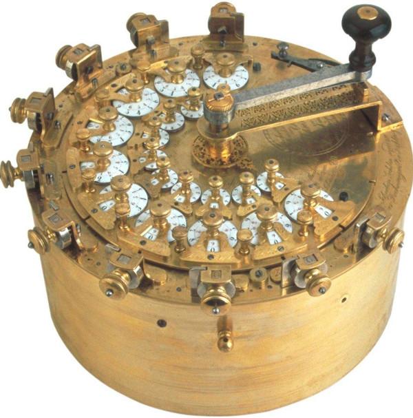 Third calculating machine of Johann Christoph Schuster (© Arithmeum Museum, Bonn)