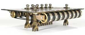 The slider mechanism of Millionaire (Courtesy of Mr. John Wolf)