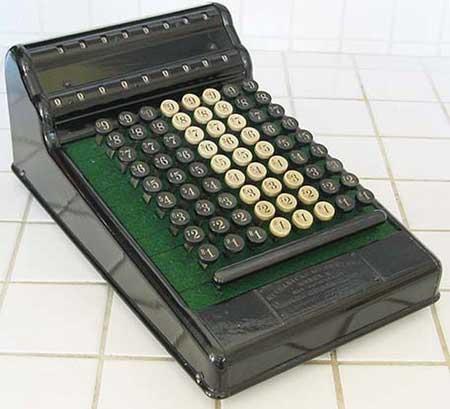 The Mechanical Accountant machine of Turck