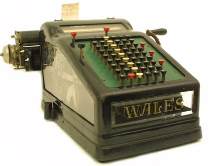 Wales Adding Machine