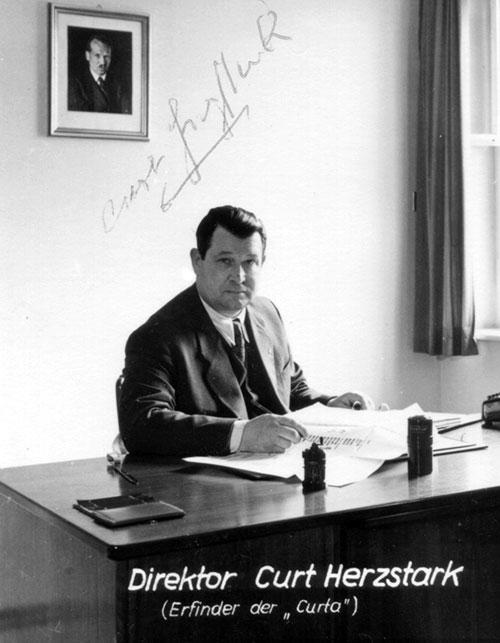 Director Curt Herzstark (early 1950s)