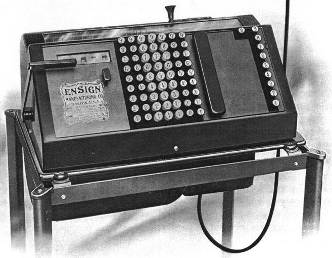 Ensign Calculating Machine