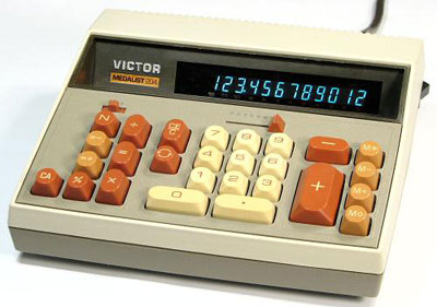 The Electronic Victor Medalist 204 from 1981