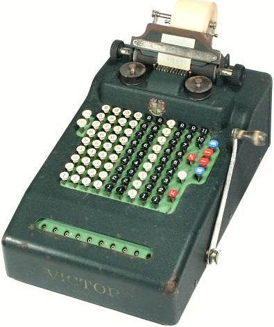 Victor 500 adding machine from 1931