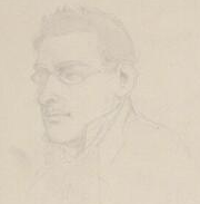 Friedrich Arzberger in 1851, a drawing from his uncle Moritz Ludwig von Schwind
