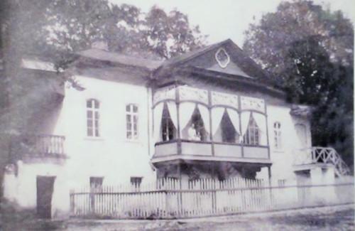 The estate of Korsakov's in Tarusovo