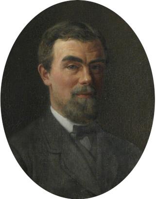 Samuel Butler (1835–1902), self portrait from 1878