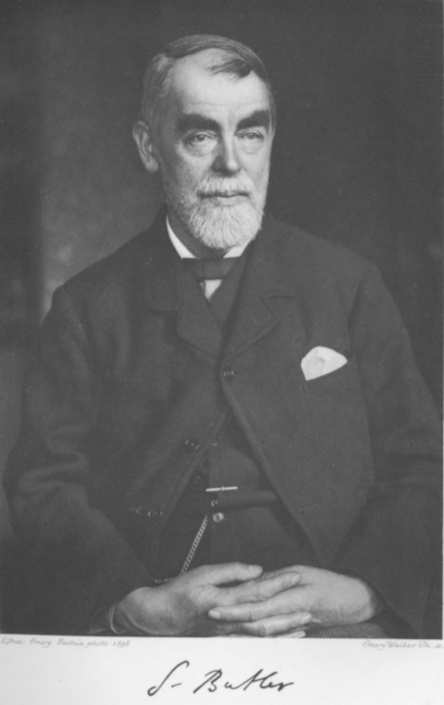 Samuel Butler (4 December 1835 – 18 June 1902)
