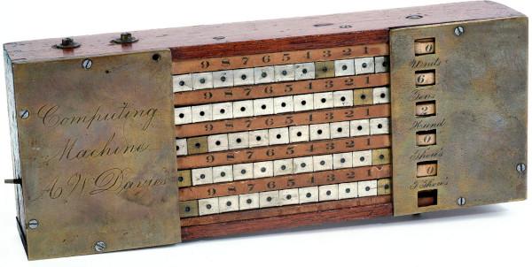 Alexander Davies' Adding Machine (© National Museum of American History, Washington, D.C.)