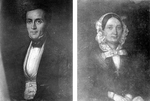 John Collett (2 Sep 1807-13 Apr 1891) and Antoinette Johanne (Smith) Collett (15 Dec 1811-15 Oct 1874)