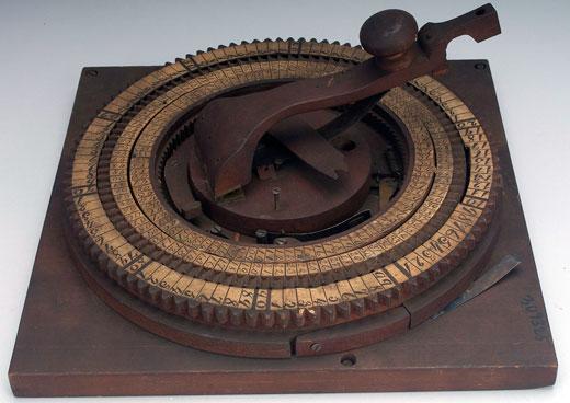 Elmore Taylor's adding machine (© National Museum of American History, Washington, D.C.)