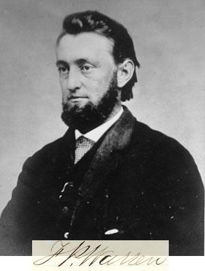 Frederick Parsons Warren around 1868 (© Michigan State University)