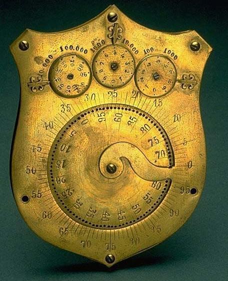 The adding machine of Gustavus Linderoos (© National Museum of American History, Washington, D.C.)