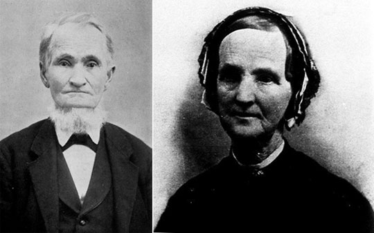 Rev. Waters Warren and his wife Caroline Clarissa Parsons Warren (photo kindly provided by Jane Ward, Three Oaks Township Library)