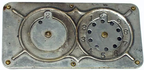 The two-wheeled version of Stephenson's Adding Machine