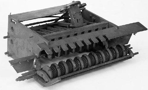 First machine of Frederick Warren (© Smithsonan Institution)