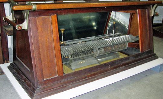 The third machine of Frederick Warren (© Michigan State University)