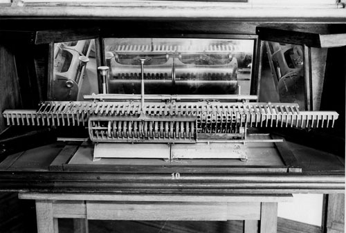 The third machine of Frederick Warren (photo kindly provided by Jane Ward, Three Oaks Township Library)