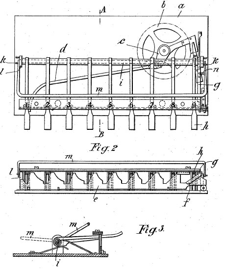 Adix patent drawing (patent №DE173286 from 1904)