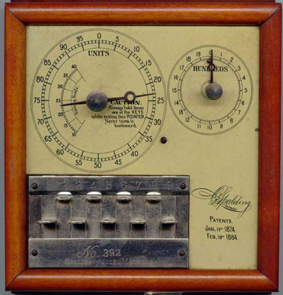 Spalding Adding Machine (second patented)
