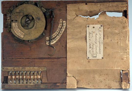 Hergenroeder's adding machine (© National Museum of American History, Washington, D.C.)