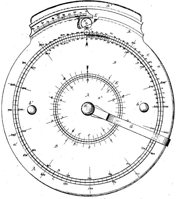 Ockerlund'a Adder (U.S. Patent 105717 issued 26 July 1870)