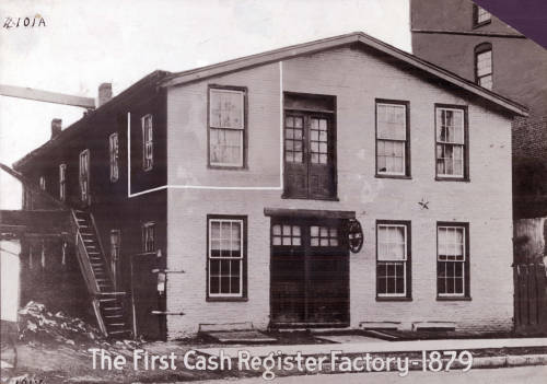 Ritty's first factory in Dayton