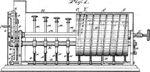 The patent drawing of Albert Stettner US patent No. US277627